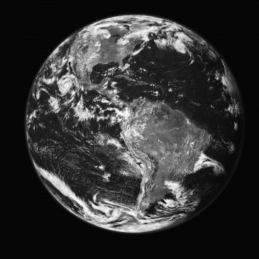Greenpeace_Planet_Earth_first_bw